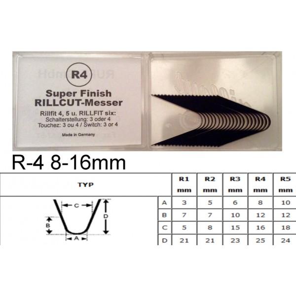 Gilinimo peiliukas R4 8-16mm
