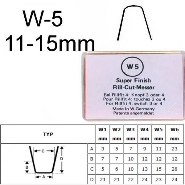 Gilinimo peiliukas W5 11-15mm