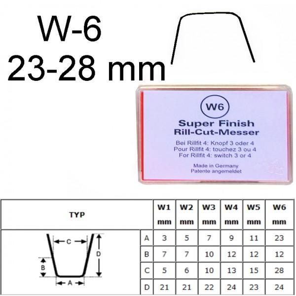 Gilinimo peiliukas W6 23-28mm